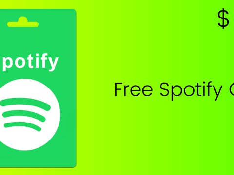 free spotify gift cards