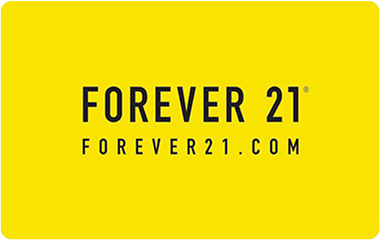 free forever 21 gift card